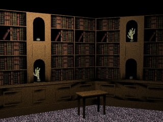 Haunted Library